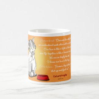Feed the love coffee mug