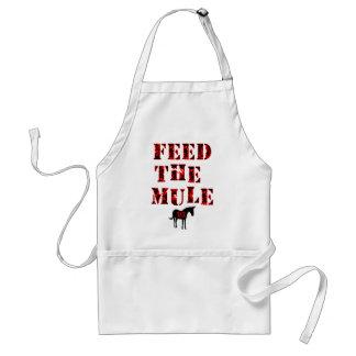Feed The Mule Johan Franzen Apron