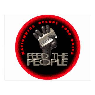 Feed the People Postcard
