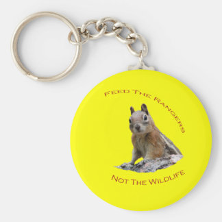 Feed The Rangers Basic Round Button Key Ring