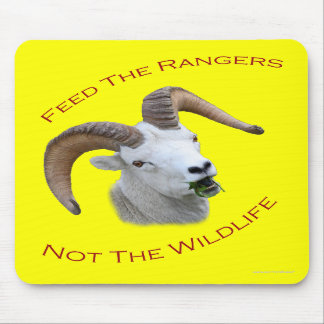 Feed The Rangers Mouse Pads