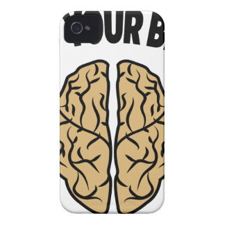 FEED YOUR BRAIN Case-Mate iPhone 4 CASE