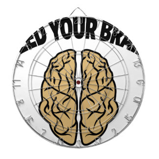 FEED YOUR BRAIN DARTBOARD WITH DARTS