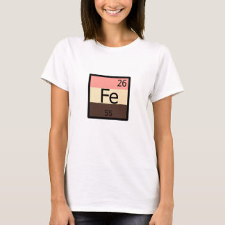 Feedee Iron Fe Periodic Table Feedist T-shirt