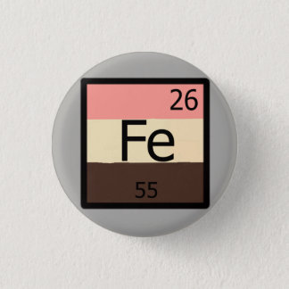 Feedee Iron Fe Periodic Table Feedist T-shirt Pin