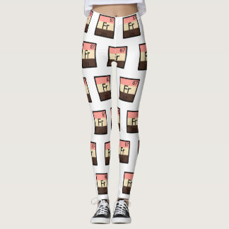 Feeder Francium Fr Periodic Table Leggings