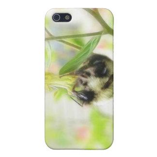 Feeding - Bee On Columbine Cover For iPhone 5