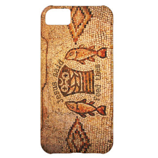 Feeding the Multitude with 5 Loaves and 2 Fishes iPhone 5C Case