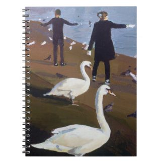 Feeding the Swans at the Round Pond Notebook