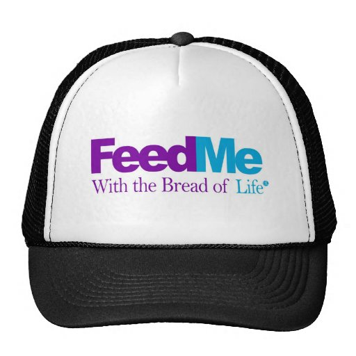 FeedMe (Blue): Delivery Parody Mesh Hats