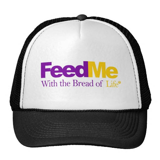 FeedMe (Gold): Delivery Parody Mesh Hat