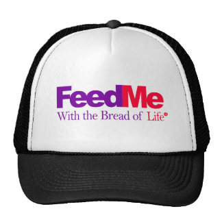 FeedMe Red Delivery Parody Trucker Hat