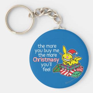 Feel Christmasy Key Ring