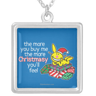 Feel Christmasy Silver Plated Necklace
