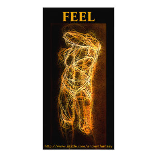 """FEEL"" Digital Fine Art Photo Card"