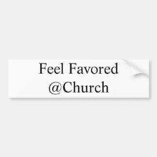 Feel Favored @Church sticker