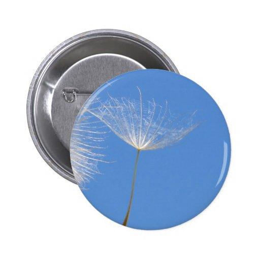 Feel free 6 cm round badge