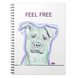 Feel Free Notebook