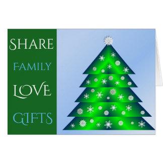 Feel Good Christmas New Year Greetingcards Card