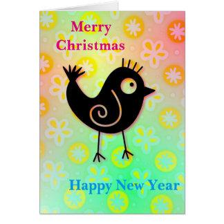 Feel Good Christmas - New Year Greetingcards Card