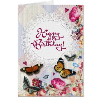 Feel Good Graphic Art Birthday Greeting Card