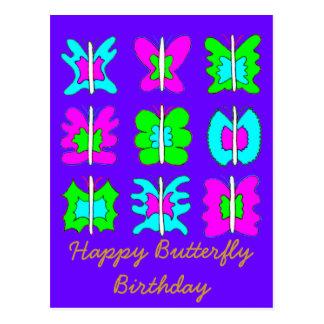 Feel Good Graphic Art Birthday Greeting Card Postcard
