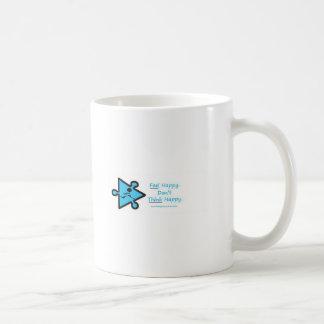 Feel Happy Basic White Mug