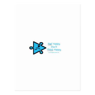 Feel Happy Postcard