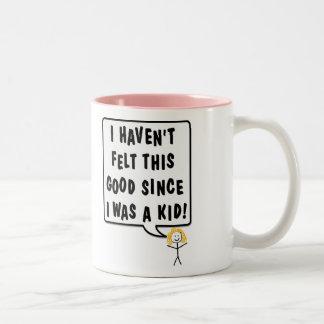 Feel Like A Kid Items Mugs