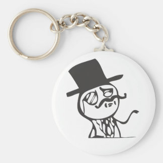 Feel Like A Sir Basic Round Button Key Ring