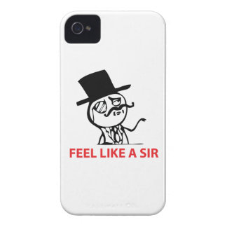 Feel Like A Sir - iPhone 4/4S Case