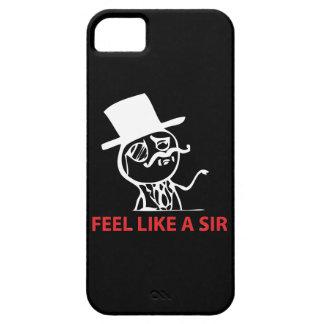 Feel Like A Sir - iPhone 5 Black Case iPhone 5 Covers