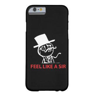 Feel Like A Sir - iPhone 6 case Black Case
