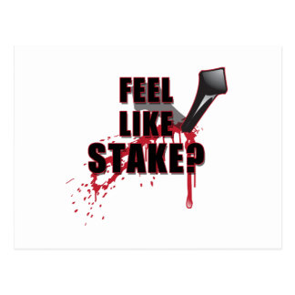 Feel Like STAKE? Postcard