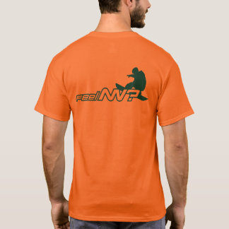 feel NV? (TM) Alert Orange Snowboarder T-Shirt