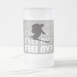 feel NV? (TM) Frosty Glass Mug