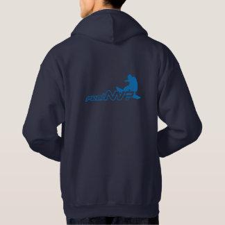 feel NV? (TM) Snowboarder Hoodie