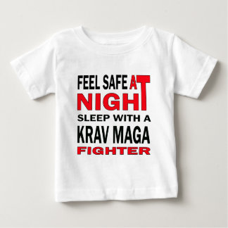 Feel safe at night sleep with a krav maga fighter t shirt