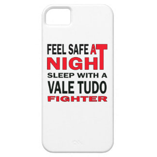 Feel safe at night sleep with a Vale Tudo fighter Barely There iPhone 5 Case