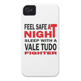 Feel safe at night sleep with a Vale Tudo fighter iPhone 4 Cases
