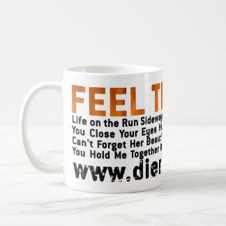 Feel That Fire Basic White Mug