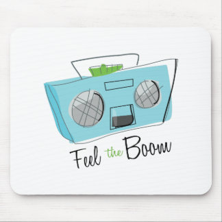 Feel the Boom Mouse Pad