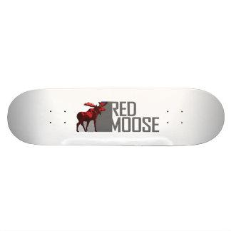 FEEL THE ENERGY - RIDE A RED MOOSE CUSTOM SKATEBOARD