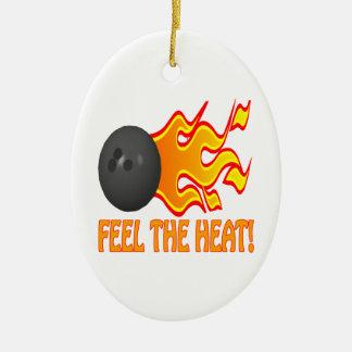 Feel The Heat Christmas Ornament
