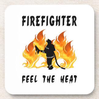 Feel The Heat Beverage Coasters