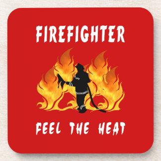Feel The Heat Drink Coasters