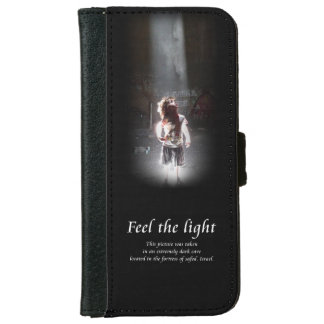 Feel the light. Spiritual iPhone 6/6s Wallet Case