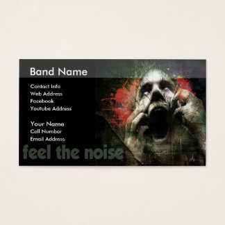 Feel The Noise Business Card