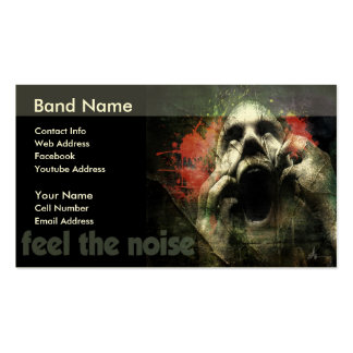 Feel The Noise Business Card Templates