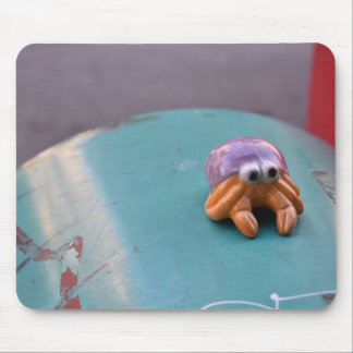 Feelin' Crabby Crab NYC Urban Street Photography Mouse Mat